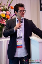 Tai Lopez (CEO of DatingHype.com) at the June 22-24, 2011 Dating Industry Conference in California