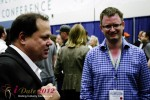 Markus Frind (Plenty of Fish) and Gary Kremen (Founder of Match.com) at the 2012 Internet Dating Super Conference in Miami