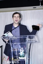 Brian Schechter - HowAboutWe.com - Winner of Best Up And Coming Dating Site 2012 at the 2012 iDateAwards Ceremony in Miami