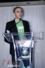 Sam Yagan - OKCupid - Winner of Most Innovativee Company 2012 at the 2012 iDate Awards Ceremony