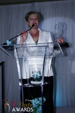 Julie Ferman - Cupid's Coach/eLove - Winner of Best Matchmaker 2012 at the 2012 iDateAwards Ceremony in Miami held in Miami Beach