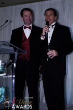 Mark Brooks and Marc Lesnick at the 2012 Internet Dating Industry Awards Ceremony in Miami