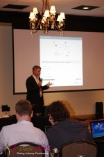 Dr. Eike Post - CEOIQ Elite / Intelligent Elite at the January 23-30, 2012 Internet Dating Super Conference in Miami