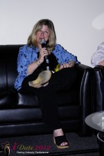 iDate2012 Dating Industry Final Panel - Dr Pepper Schwartz at the 2012 Internet Dating Super Conference in Miami
