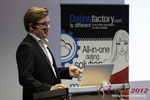 Florian Braunschweig (CTO of Lovoo) at the September 10-11, 2012 Cologne Euro Online and Mobile Dating Industry Conference