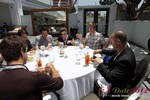 Lunch at the June 20-22, 2012 Mobile Dating Industry Conference in Beverly Hills