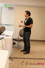 Andy Kim (CEO of Mingle)  at the June 20-22, 2012 Beverly Hills Internet and Mobile Dating Industry Conference