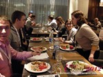 Lunch at the October 25-26, 2012 Mobile and Online Dating Industry Conference in Russia