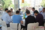 Lunch at the 2013 European Union Online Dating Industry Conference in Cologne