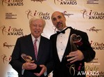 Dr. Warren & Paul Falzone at the 2013 Internet Dating Industry Awards Ceremony in Las Vegas