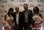Harry Van Der Nol and Will Alan  Bush in Las Vegas at the January 17, 2013 Internet Dating Industry Awards