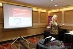 Julie Ferman (eLove / Cupids Coach) at the 2013 Internet Dating Super Conference in Las Vegas