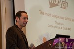 Mike Gregory (CEO of Wooyah) at the CEO Therapy session at iDate2013 Las Vegas