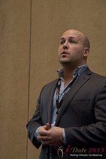Pat Ness (President SMB Master) at the January 16-19, 2013 Internet Dating Super Conference in Las Vegas