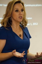 Rachel DeAlto (The Flirt Expert) at the 10th Annual iDate Super Conference