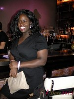 Charreah Jackson (Essence Magazine) at the Shadow Bar Party at the January 16-19, 2013 Las Vegas Internet Dating Super Conference