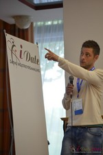 Ashley Christie, CEO of theMobileHub  at the September 8-9, 2014 Koln E.U. Internet and Mobile Dating Industry Conference