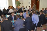 Speed Networking among Dating Industry Executives  at the 2014 E.U. Internet Dating Industry Conference in Koln