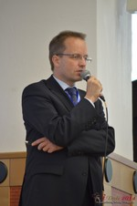 Dieter Plassman, CTO at Net-M  at the 2014 Cologne Euro Mobile and Internet Dating Expo and Convention