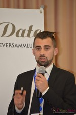 Matthew Banas, CEO of NetDatingAssistant  at the 39th iDate2014 Koln convention