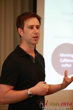 Author Neal Cabage Of The Smarter Startup at the June 4-6, 2014 Beverly Hills Internet and Mobile Dating Business Conference