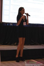 Rosalie Sutherland Of AnastasiaDate Speaking On Mobile Dating Conversions  at the June 4-6, 2014 Beverly Hills Internet and Mobile Dating Business Conference