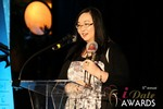 Michelle Li of Successful Match (Winner of the DatingWebsiteReview.net Award for Best New Feature) in Las Vegas at the 2014 Online Dating Industry Awards