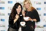 Marcella Romaya & Sheri Grande (Gluten Free Desert @ iDate) at the 2014 iDate Awards