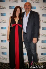Tatyana Seredyuk & Sean Kelley  at the 2014 iDateAwards Ceremony in Las Vegas