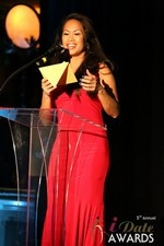 Carmelia Ray  at the 2014 iDate Awards