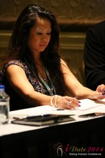 Carmelia Ray at the January 14-16, 2014 Internet Dating Super Conference in Las Vegas