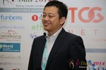 CFO of Jiayuan at iDate at iDate2014 Las Vegas