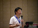 Dr. Song Li - CEO of Zhenai at the 2015 Asia Online Dating Industry Conference in China