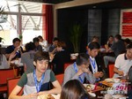Lunch at iDate2015 China