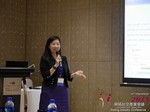 Violet Lim - CEO of Lunch Actually at the 2015 Asia Online Dating Industry Conference in China