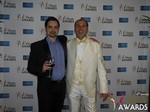 Arthur Malov and Marc Lesnick at the 2015 iDate Awards