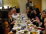 Lunch Among European And Global Dating Industry Executives   at the Euro iDate conference and expo for matchmakers and online dating professionals in 2015