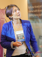Pauline Tourneur General Manager Of Attractive World Speaking On The French Online And Mobile Dating Market at the October 14-16, 2015 Mobile and Internet Dating Industry Conference in London