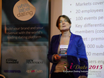 Pauline Tourneur General Manager Of Attractive World Speaking On The French Online And Mobile Dating Market  at the 2015 Euro Internet Dating Industry Conference in London