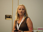 Krystina Trushnya - Publisher of Ukranian Dating Blog at the 45th iDate Dating Agency Industry Trade Show