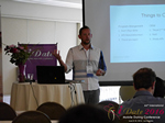 Kenny Hyder (VP of Equate Media)  at the 38th Mobile Dating Negócio Conference in L.A.