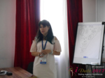 Elena Vygnanyuk at the 49th iDate P.I.D. Business Trade Show