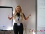 Julia Lanske at the July 19-21, 2017 Premium International Dating Industry Conference in Minsk